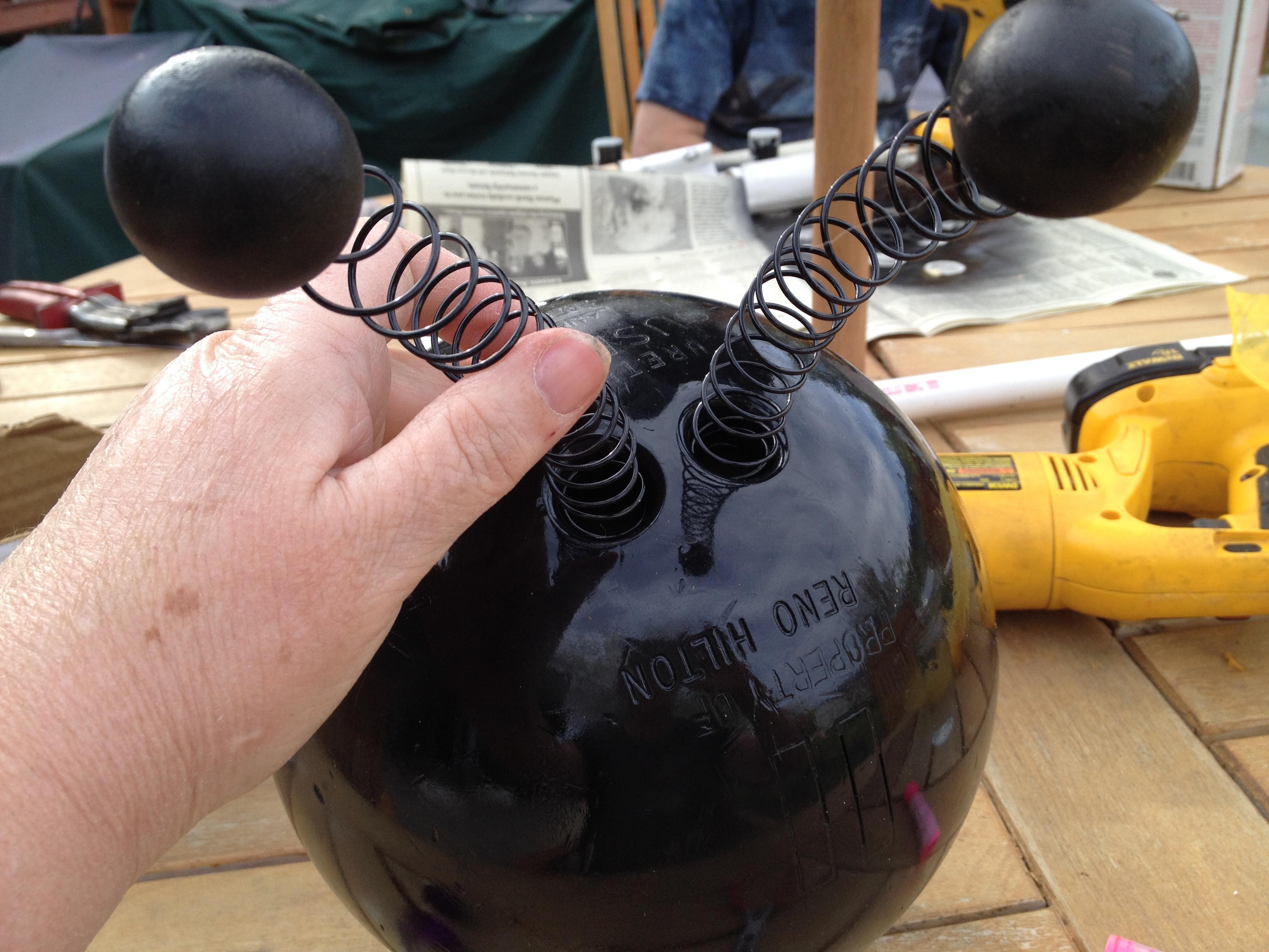 DIY bolas de bolas de calabaza - Prodigal Piezas