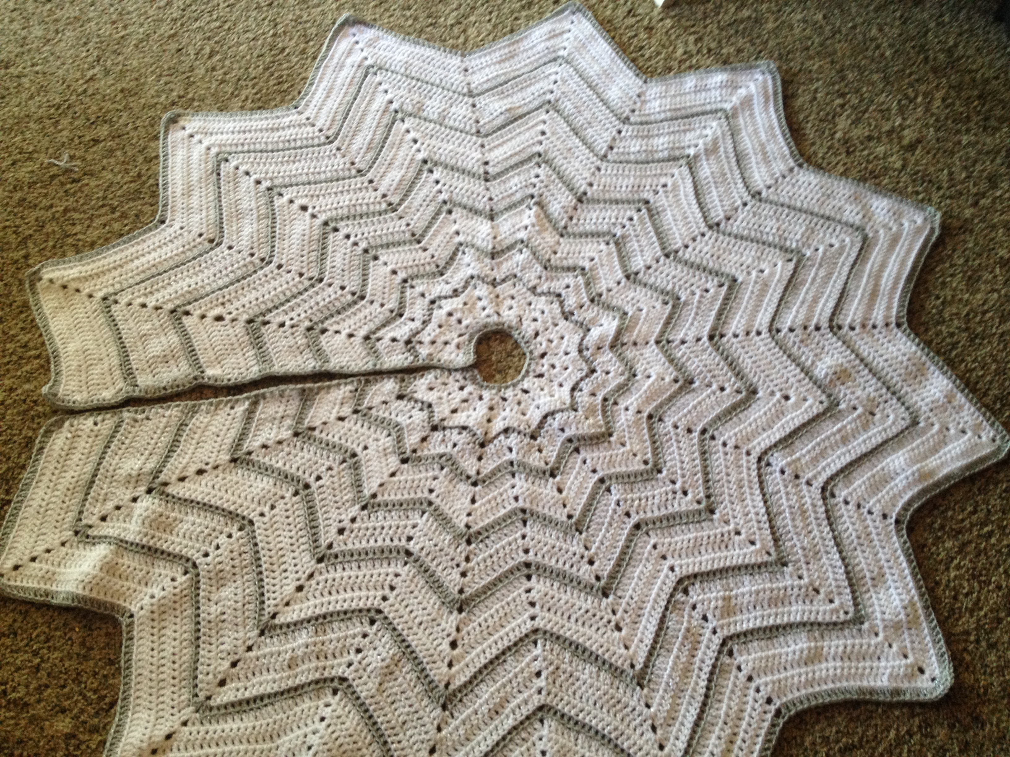 Free Crochet Tree Skirt Pattern Amazing Design Inspiration